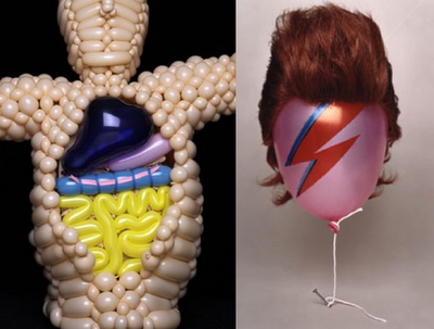 Balloon Art - Anatomy Ziggy Stardust Bowie