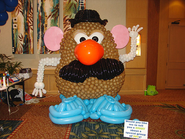 Balloon Art - Mr Potato Head