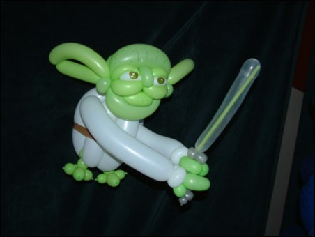 Balloon Art - Yoda - Star Wars