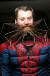 Chad Roberts - Amazing Beard - Spiderman
