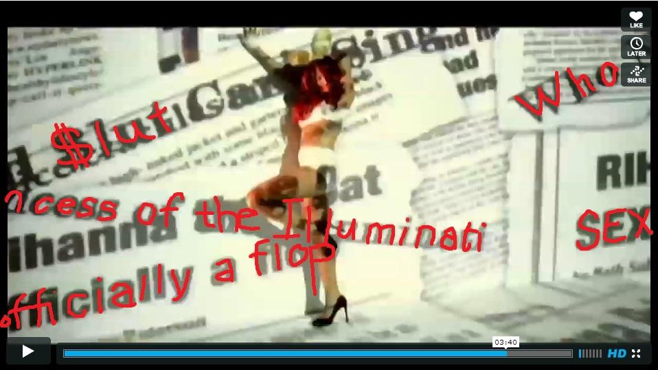Rihanna Is Satans Tool - Illuminati Nonsense - Video Still Full