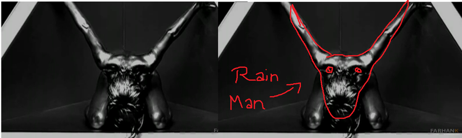 Rihanna is Satans Tool - Illuminati - Rain Man Symbol In Video