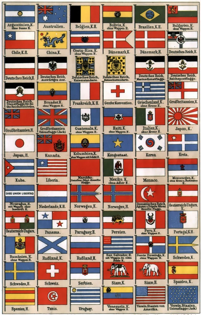 All Flags Of The World 1911
