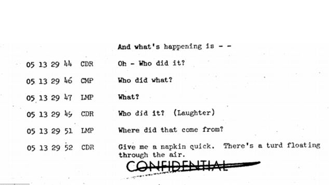 Apollo 10 - Floating Waste Transcript 1