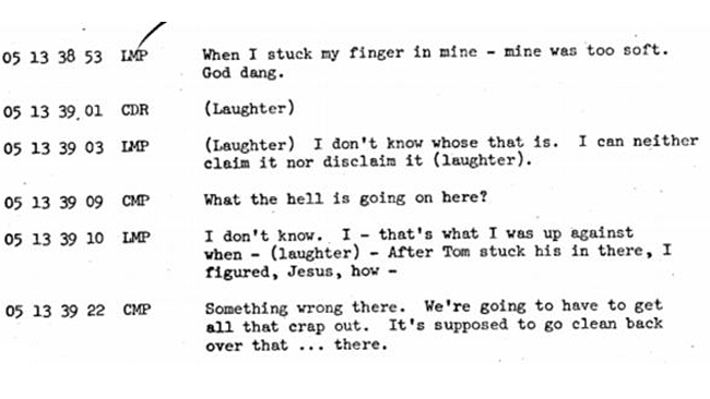 Apollo 10 - Floating Waste Transcript 3