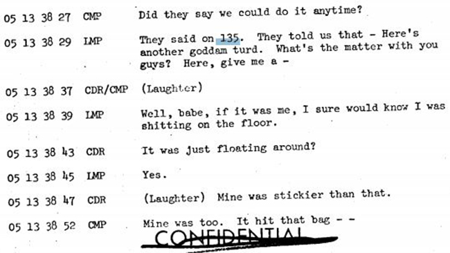 Apollo 10 - Floating Waste Transcript 4