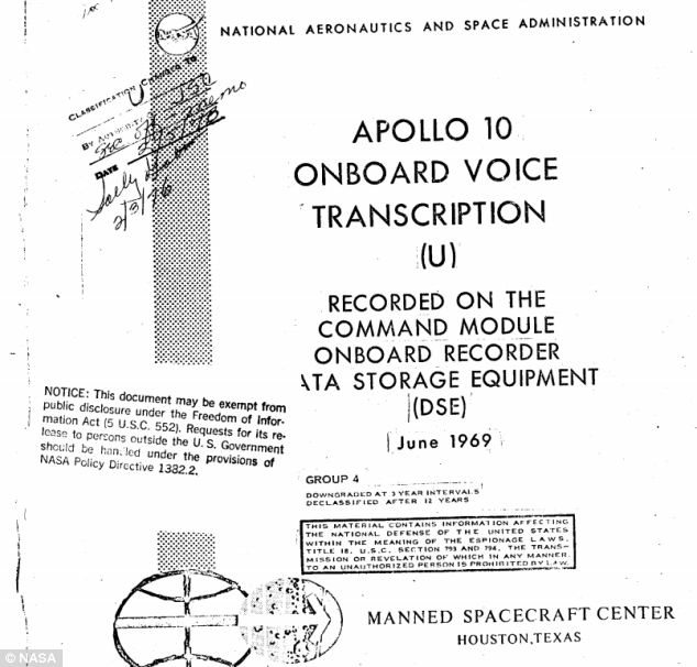 Apollo 10 - Floating Waste Transcript - Header Official
