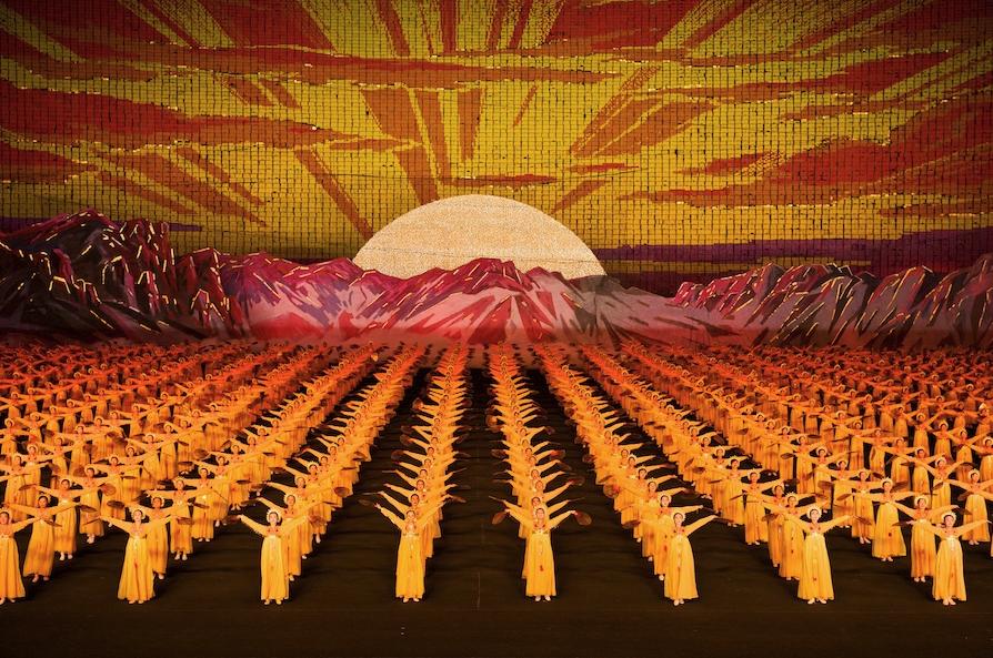 Arirang - Mass Gymnastics - North Korea - Sunrise