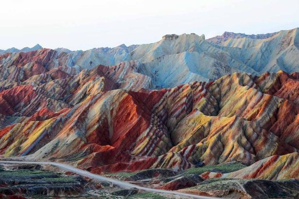 Danxia Rainbow Mountains 2