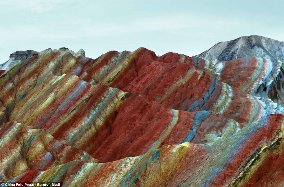Danxia Rainbow Mountains Gansu, China 6