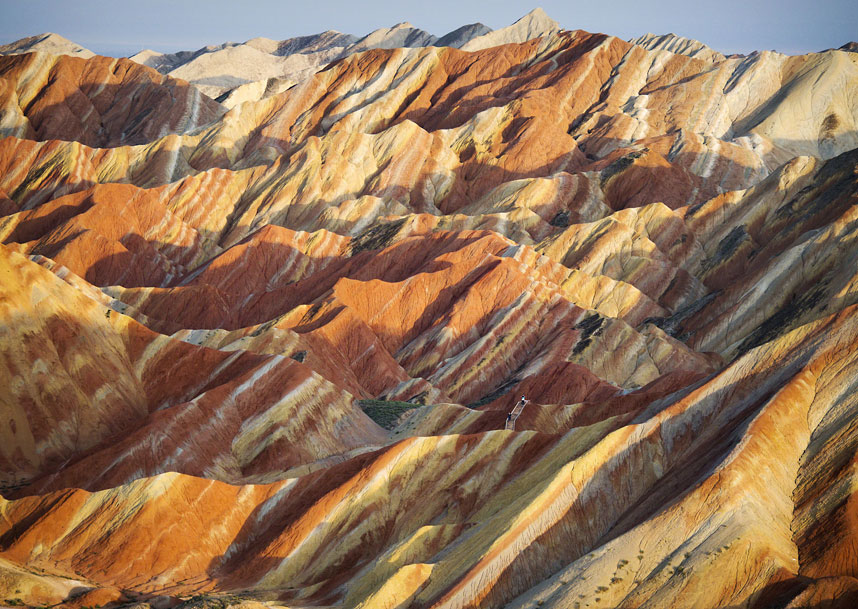 Danxia Rainbow Mountains - Zhangye China