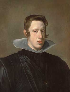 Diego Rodriguez Velazquez's portrait of King Philip IV