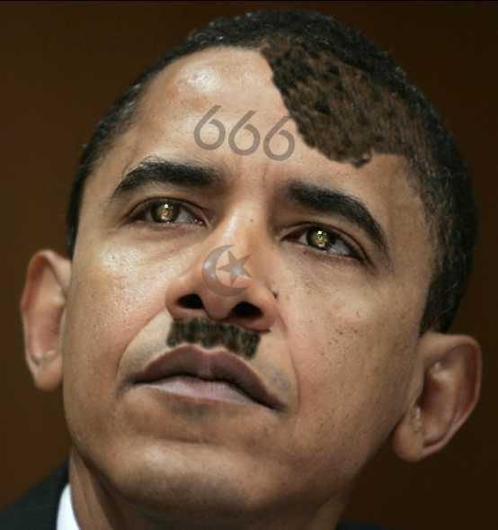 Evil Obama 666