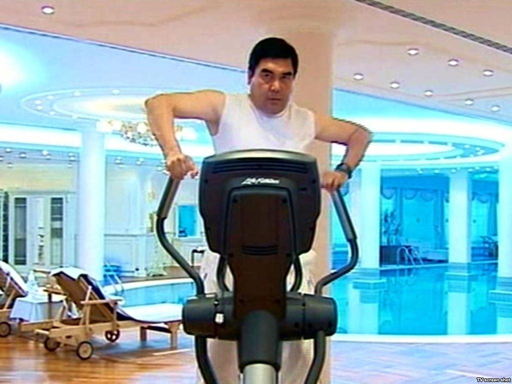 Gurbanguly Berdimuhamedow - Fitness Fanatic - Turkmenistan