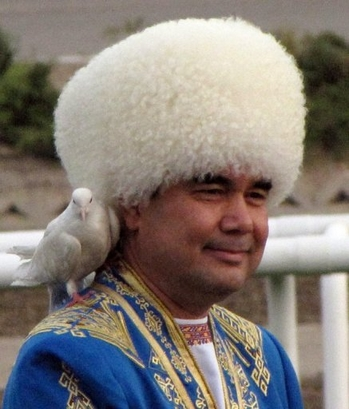 Gurbanguly Berdimuhamedow - With Guest Pigeon