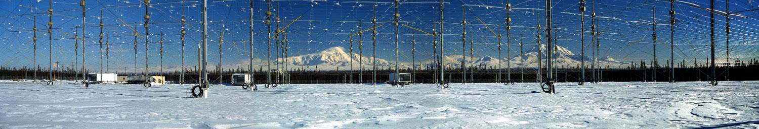 Panaorama of HAARP Antennaes