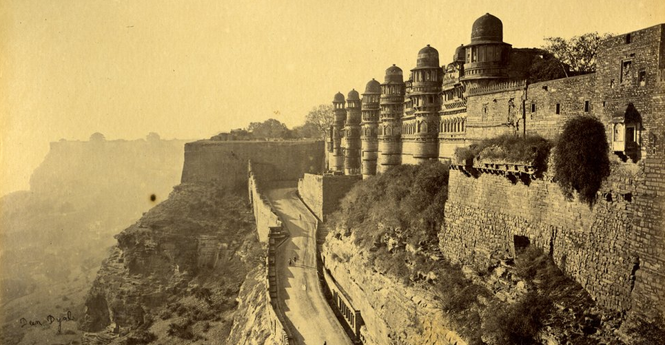 Raja Deen Dayal - 19th Century India - Gwalior 1878