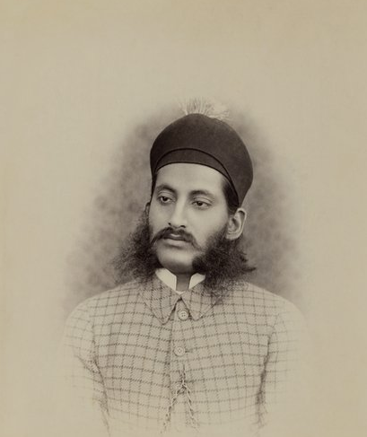 Raja Deen Dayal - 19th Century India - Nizam Mahbub Ali Khan portrait