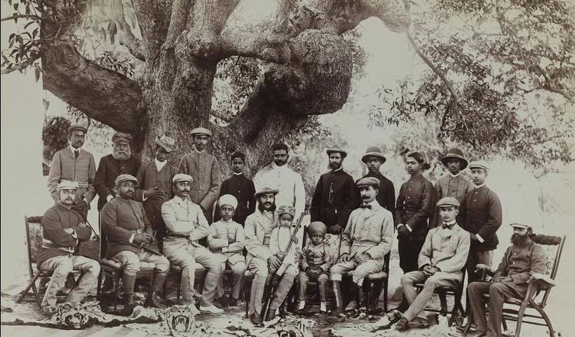 Raja Deen Dayal - 19th Century India - Nizam Mahbub Ali Khan