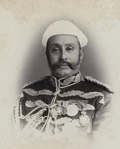 Raja Deen Dayal - 19th Century India - Prime Minister Nawab Asman Jah Bahadur