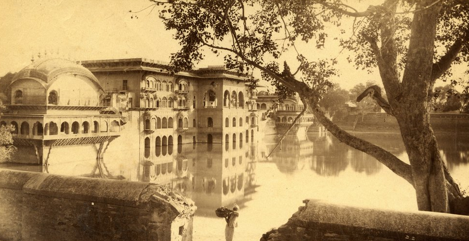 Raja Deen Dayal - 19th Century India - Water Palace Deeg