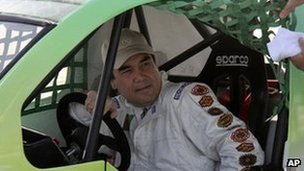 Turkmenistan - Gurbanguli Berdymukhamedov - Car Race