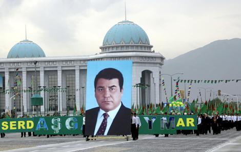 Turkmenistan Niyazov - Poster