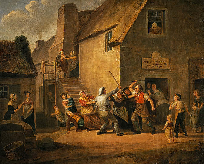 Vulgar Language - 1881 - brawl outside ale house