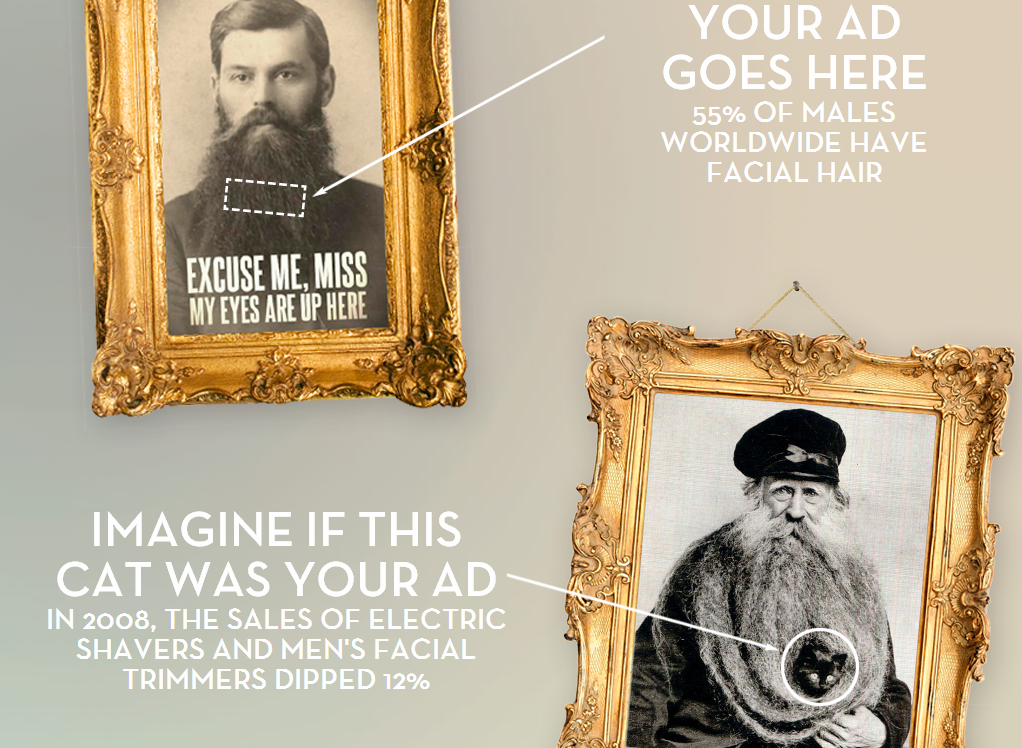 Beardvertising - Real Native Advertising - Make Money From Your Beard