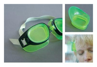 Extreme Repurposing - Swimming Goggles Headrest - Parts