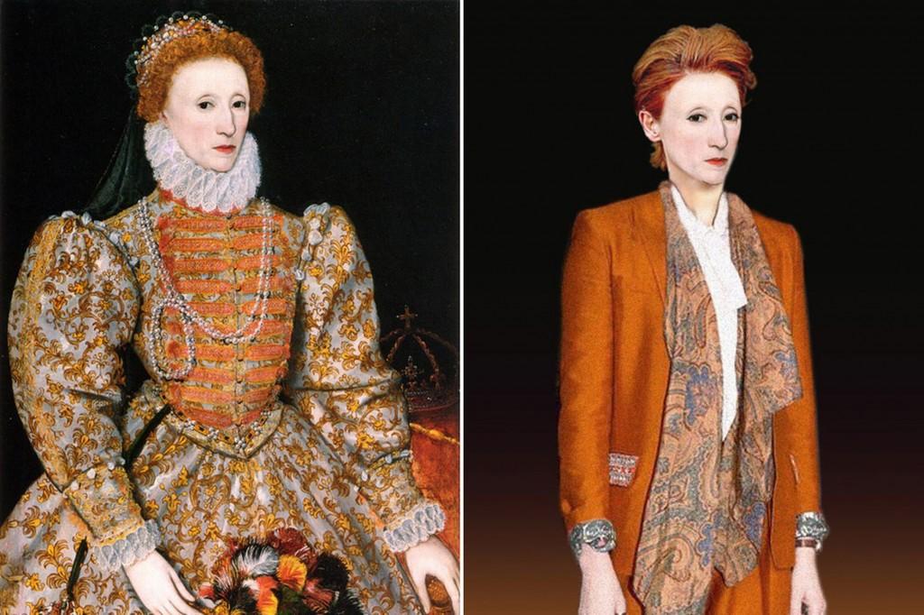 Modern Day Makeover - Elizabeth I