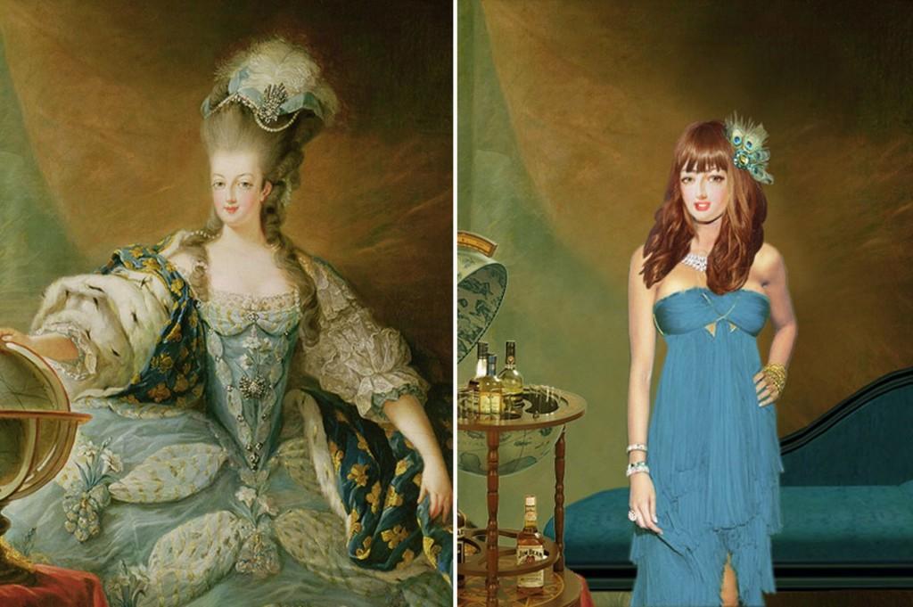 Modern Day Makeover - May Antoinette