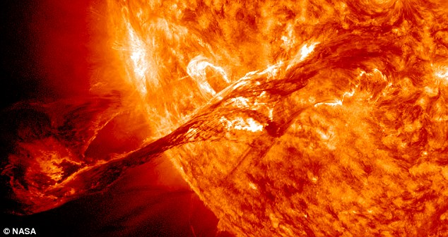 NASA - Solar Dynamic Observatory - Sun Plasma New Years Eve 2012