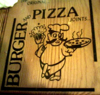 Phallic Logo Adwards - burger and pizza