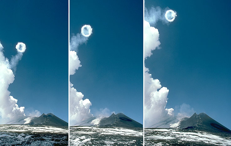 Volcanic Smoke Rings - Even Volcanoes Like To Chill ...