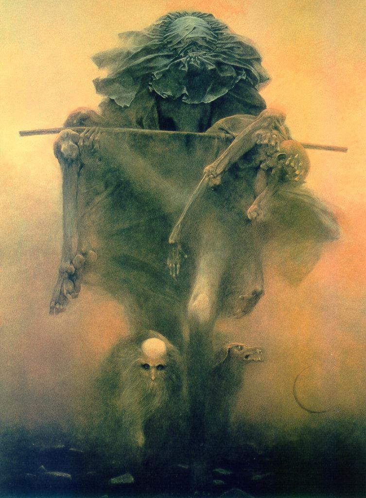Zdzisław Beksiński - grim reaper