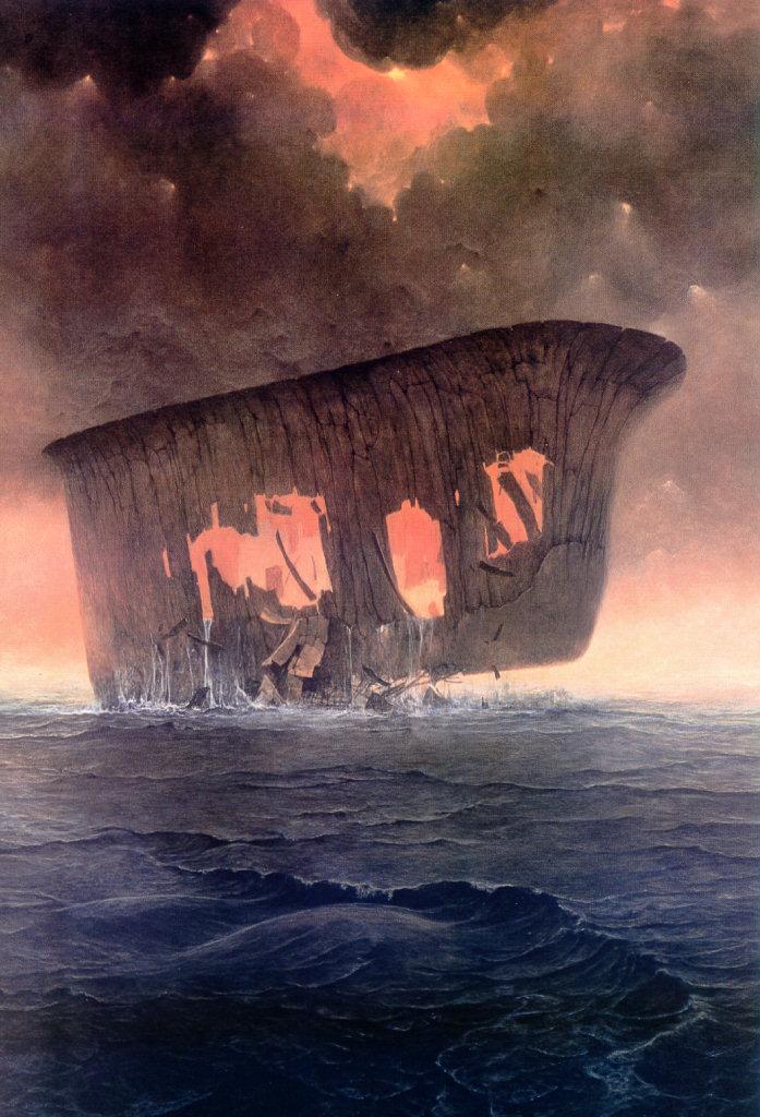 Zdzisław Beksiński - lost at sea