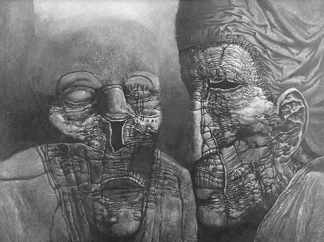 Zdzisław Beksiński - old aliens