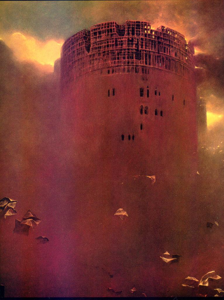 Zdzisław Beksiński - tower