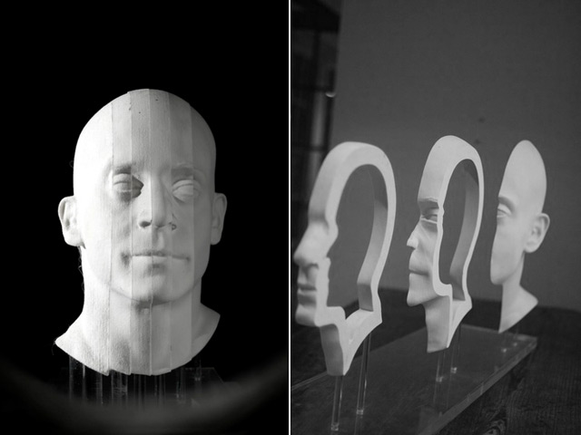 Anamorphic Art - Jonty Hurwitz - Head Illusion Pt2