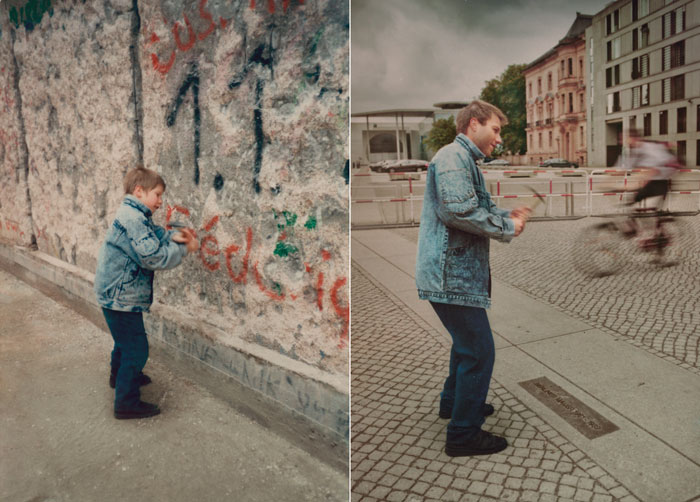 Back to the Future - Irina Werning - Old and New - Berlin Wall