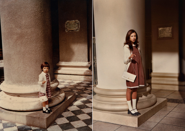 Back to the Future - Irina Werning - Old and New - Girl Plaid Dress