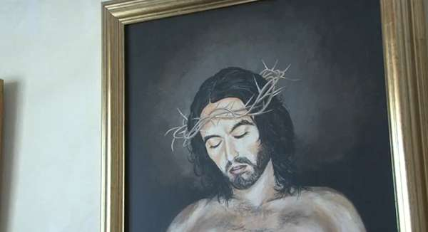 Brighton Renaissance - Robert Burns - Russel Brand As Jesus