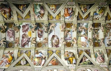 Brighton Renaissance - Robert Burns - Sistine Chapel