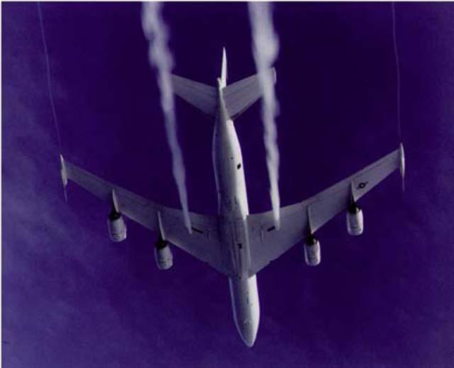 Chemtrails Evidence - Fuel Dumping - E-6B Mercury