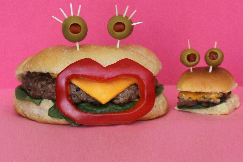 Kasia Haupt - Sanwich Art Sculpture - Happy Burgers