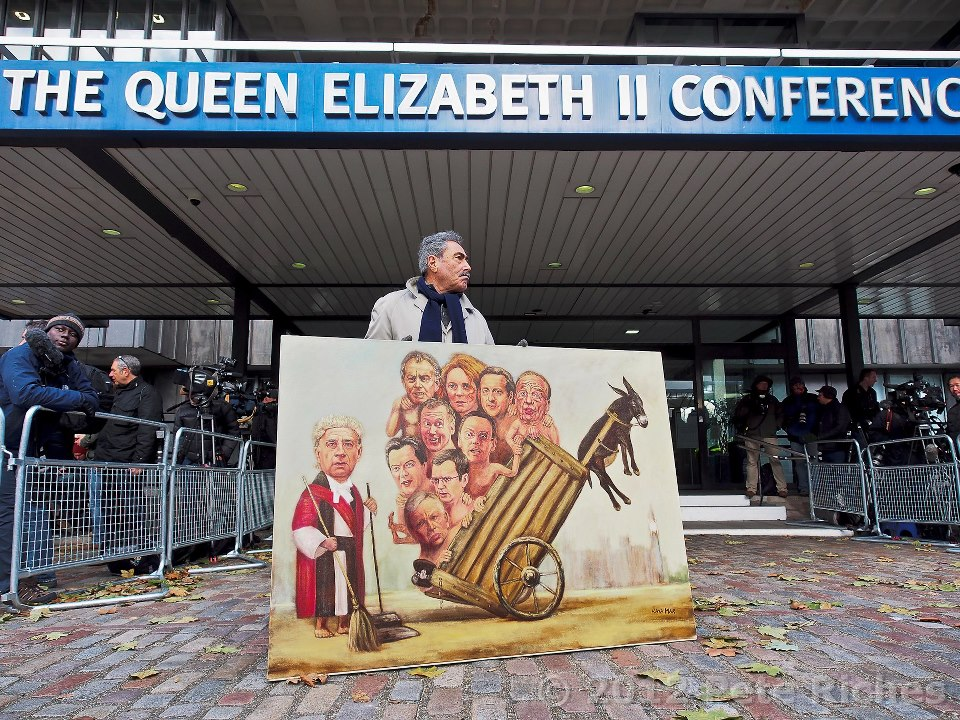 Kaya Mar - Queen Elizabeth Conference Centre - Political Painting