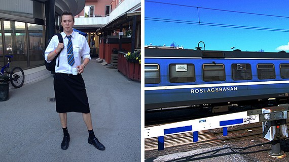 Swedish Drivers Wear Skirts - Shorts Ban - Martin Akersten