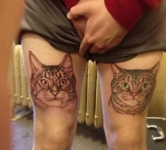 Terrible tattoo awards 2013 - cats