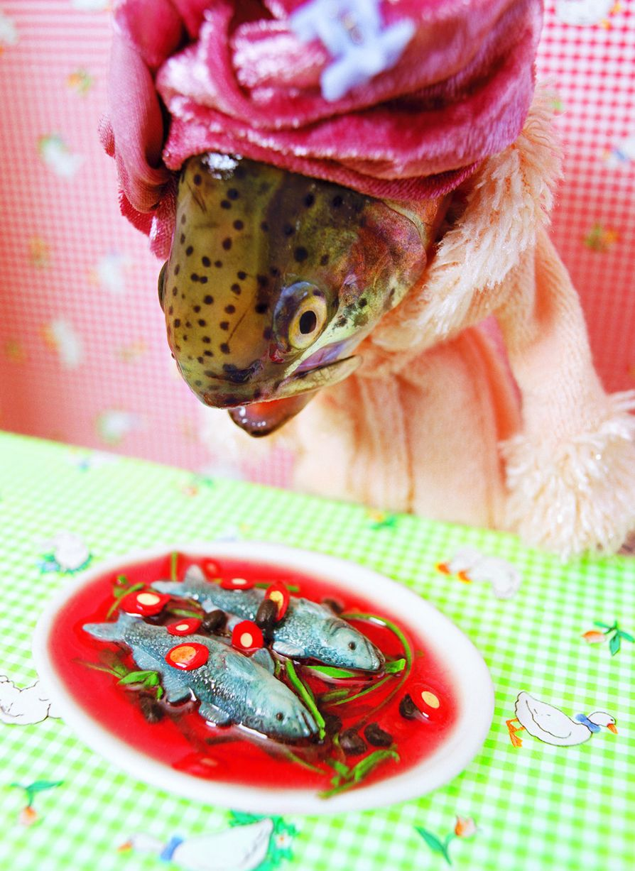 Anne-Catherine Becker-Echivard - Fishy Art - Rainbow Trout#